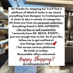 Welcome To My Closet!!👙👗👖👠👜👟💄